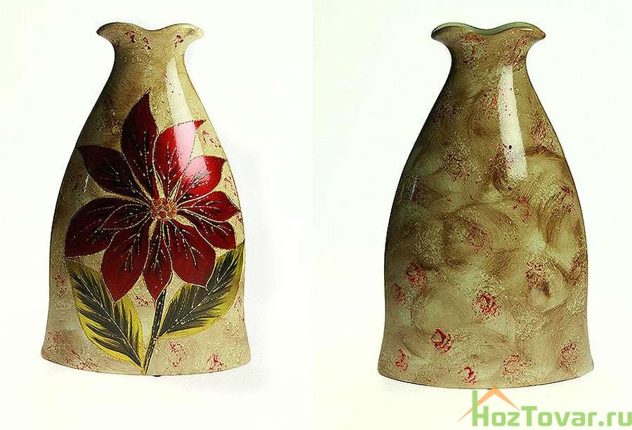 цветочные керамические вазы в спб Коровка