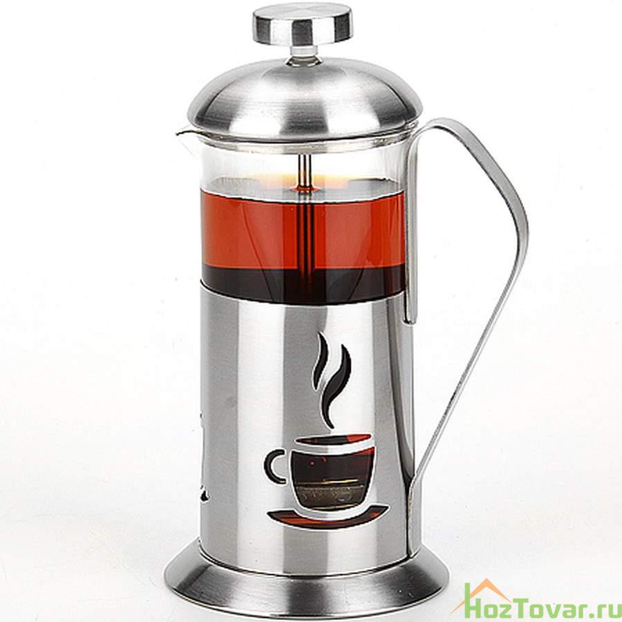 Чайник заварочный френч-пресс миранда, 600 мл артикул